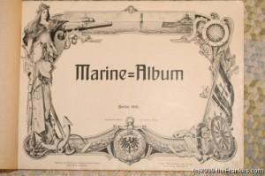 Marine Album Title Page - Berlin, 1910
