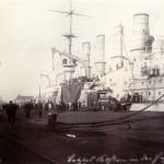 Kohlenübernahme in Wilhelmshaven