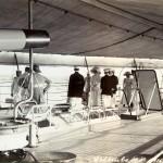 Das Kronprinzenpaar an Bord, Colombo