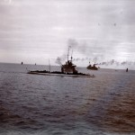 Torpedoboot Taku & Franz. Kreuzer