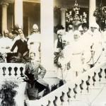Der Kronprinz beim Vicekönig von Indien