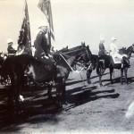 Abnahme einer Parade durch den Kronprinzen, Indien