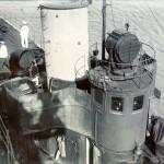 Kommandobrücke von Torpedoboot S.90