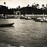 Wohn-und Fischerboote, Colombo, Ceylon