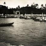 Wohn-und Fischerboote, Colombo, Ceylon