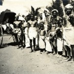Eingeborene auf Ceylon