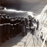 Exellenz von Truppel&#039;s Besuch auf S.M.S. Gneisenau