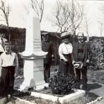 Familie von Truppel und Kapitän von Uslar a.d. Iltisfriedhof