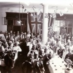 Unteroffiziere von S.M.S. Gneisenau & H.M.S. Minotaur in Tsingtau