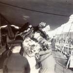Frau von Truppel nimmt Abschied von Tsingtau