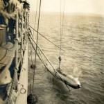 Torpedo wird eingeholt