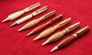 Turned Wooden Pens