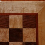 Bouscal Chess Board, detail
