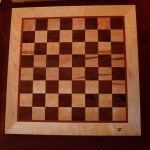Bouscal Chess Board, front