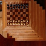 Bouscal Chess Boards, stacked