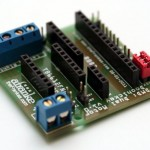 DMD Motor Controller (RBBB + TB6612FNG) soldered up