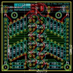 PCB for 12-channel Bidirectional Logic Level Shifter