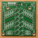 12-Channel Logic Level Shifter/Translator PCB, Top