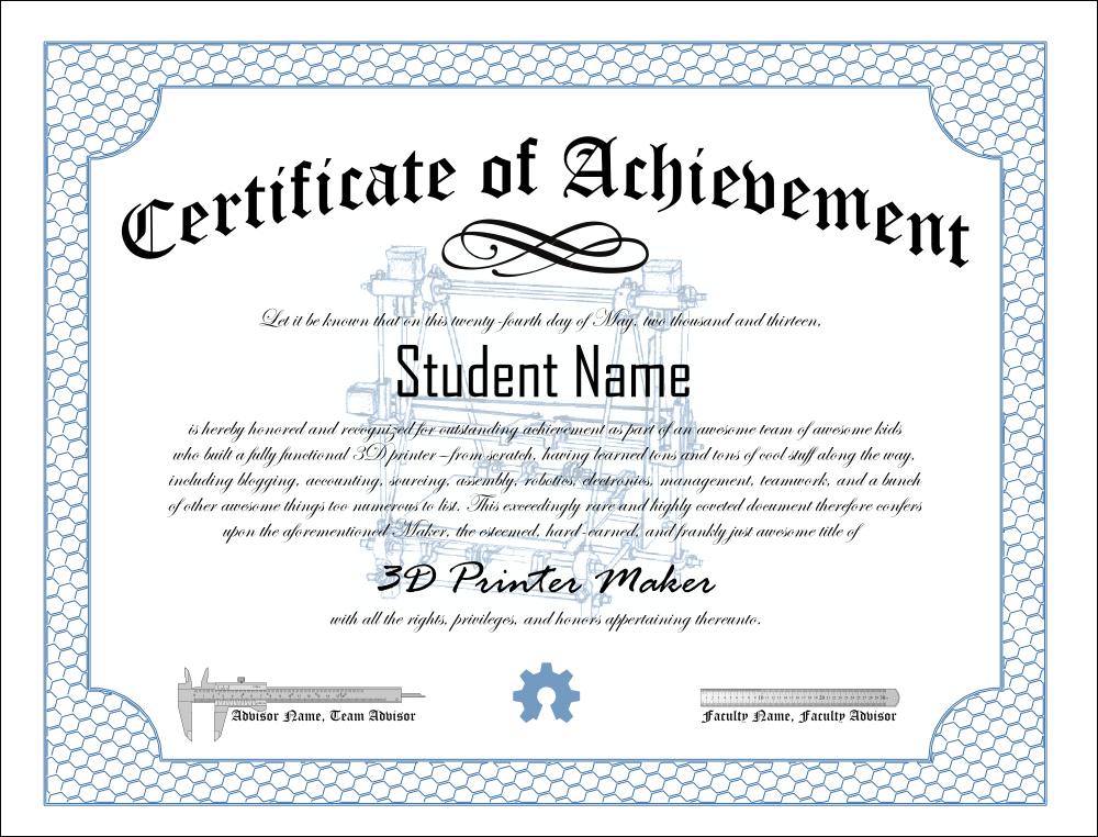 Certificate of achievement examples hatchurbanskript certificate of achievement examples yelopaper Choice Image