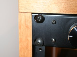 19-inch cabinet with no room for error
