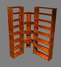 Bookshelf-3d